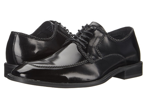 Stacy Adams - Bramwell (Black) Men's Lace Up Moc Toe Shoes