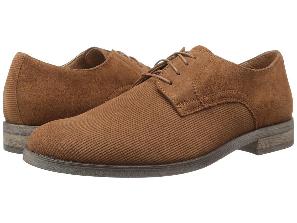 Stacy Adams - Corday (Mocha Suede) Men's Plain Toe Shoes