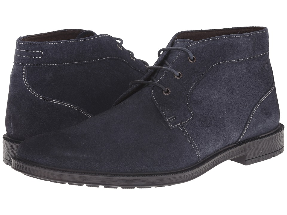 Stacy Adams - Dabney (Navy Suede) Men