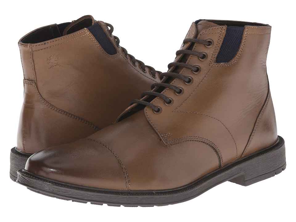 Stacy Adams - Dowling (Cog Oiled Pull Up) Men's Lace Up Cap Toe Shoes