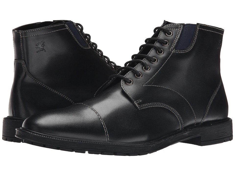 Stacy Adams - Dowling (Black) Men's Lace Up Cap Toe Shoes