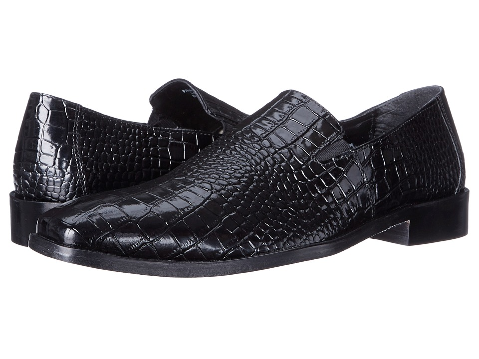 Stacy Adams - Galindo (Black) Men's Plain Toe Shoes