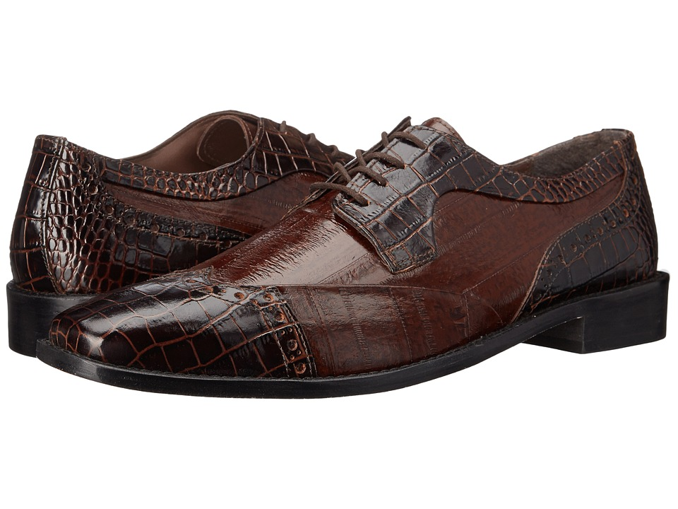 Stacy Adams - Galletti (Brown/Cognac) Men