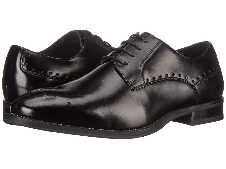 Stacy Adams - Kendrick (Black) Men's Plain Toe Shoes