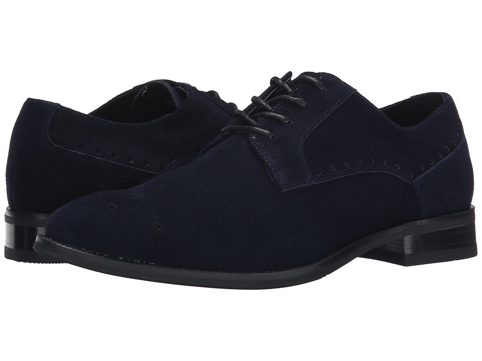 Stacy Adams - Kensingston (Navy Suede) Men