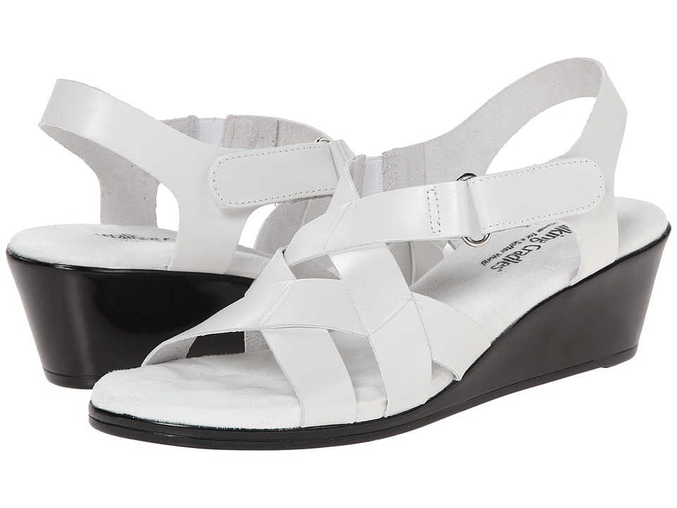 Walking Cradles - Newton (White) Women's Sandals