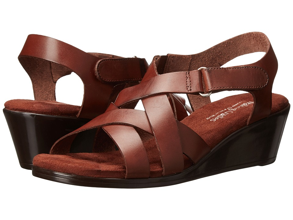 Walking Cradles - Newton (Tobacco) Women's Sandals