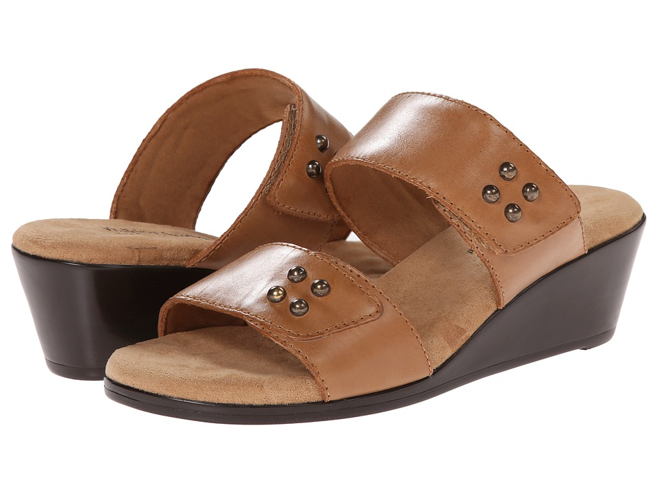 Walking Cradles - Nick (Camel) Women's Slide Shoes