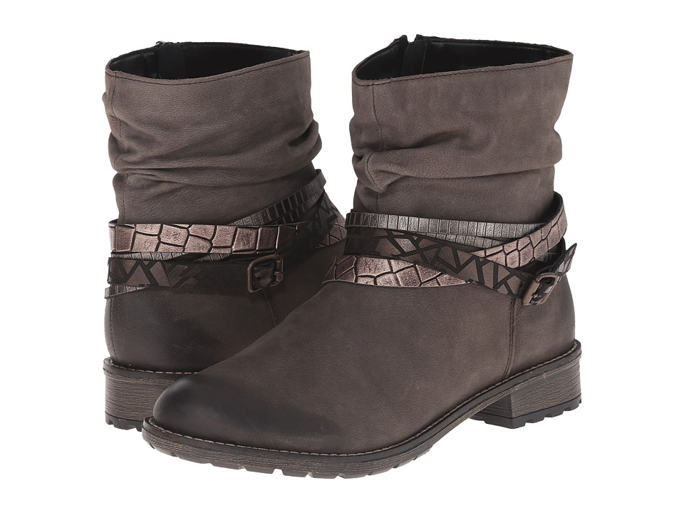 Rieker - R3354 (Bisam Talamon/Antik Australia/Altgold Crocodile) Women's Zip Boots