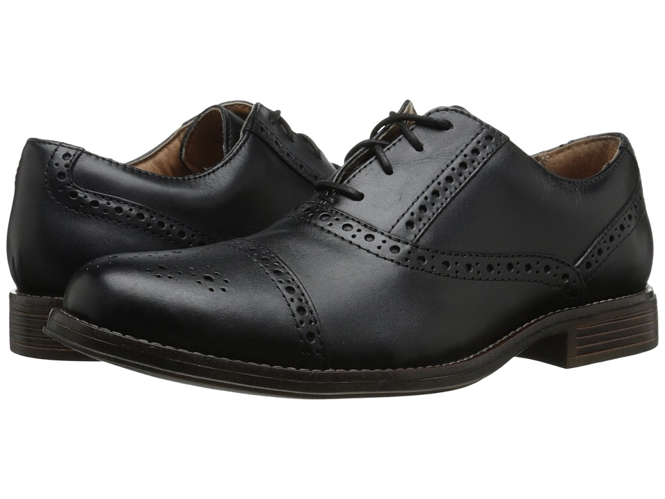 Dockers - Hamblen (Black Polished Full Grain) Men