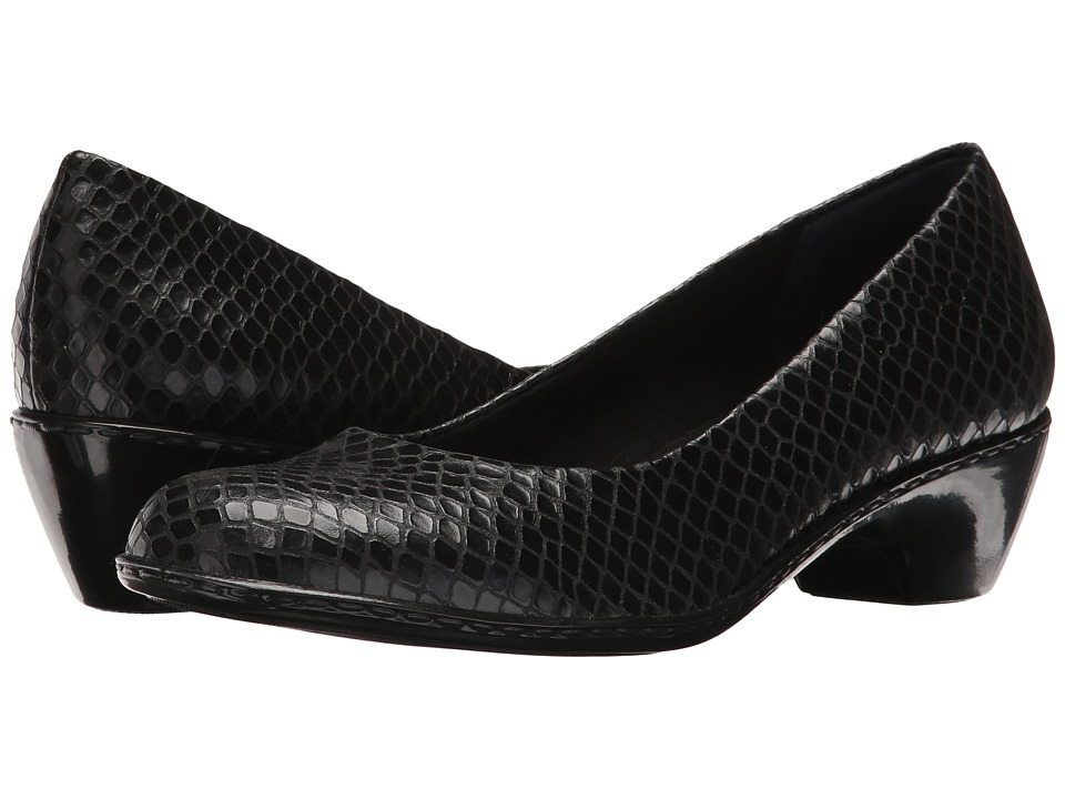 Walking Cradles - Craft (Black Snake) High Heels