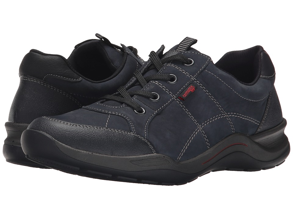 Rieker - R5404 (Schwarz Jura/Pazifik Crok/Schwarz Belinga) Women's Lace up casual Shoes