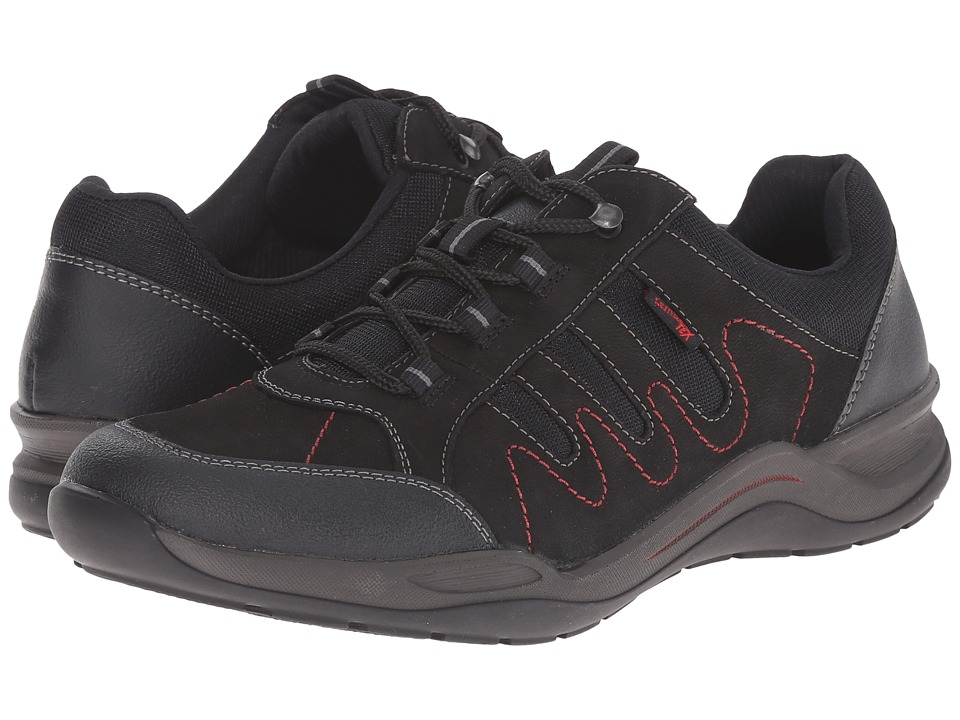 Rieker - R5403 (Black Jura/Black Talamon/Black Airmesh) Women's Lace up casual Shoes
