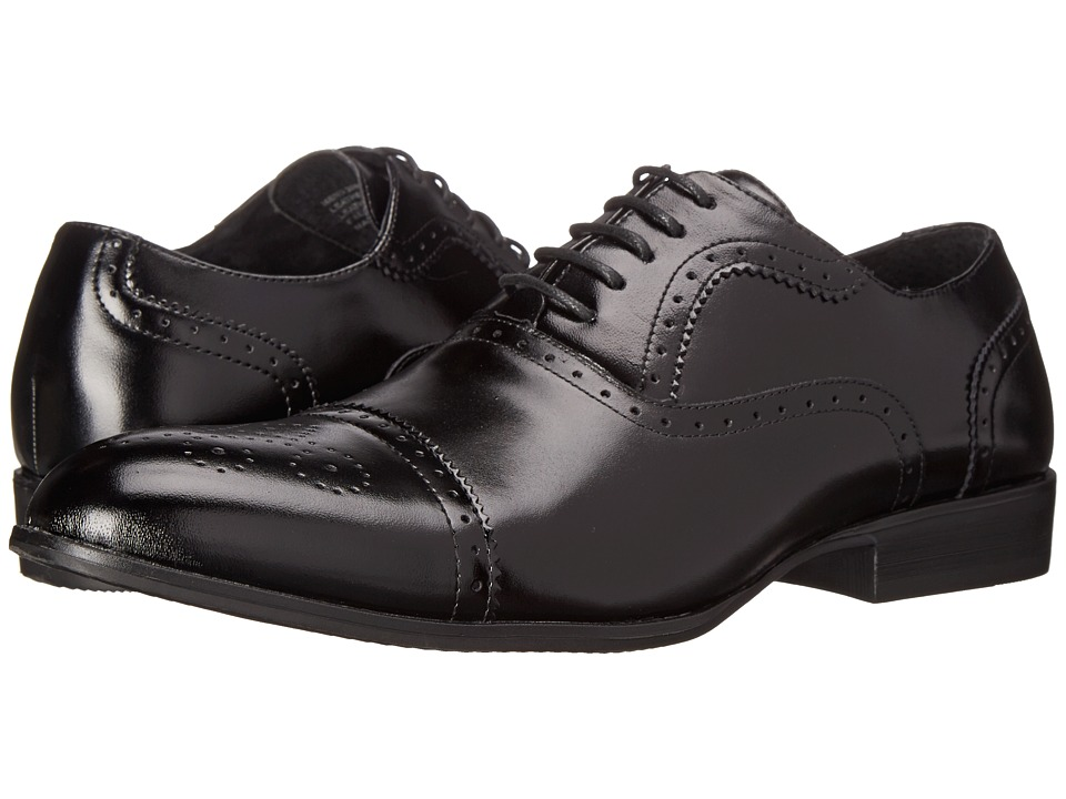 Stacy Adams - Gibson (Black) Men's Shoes