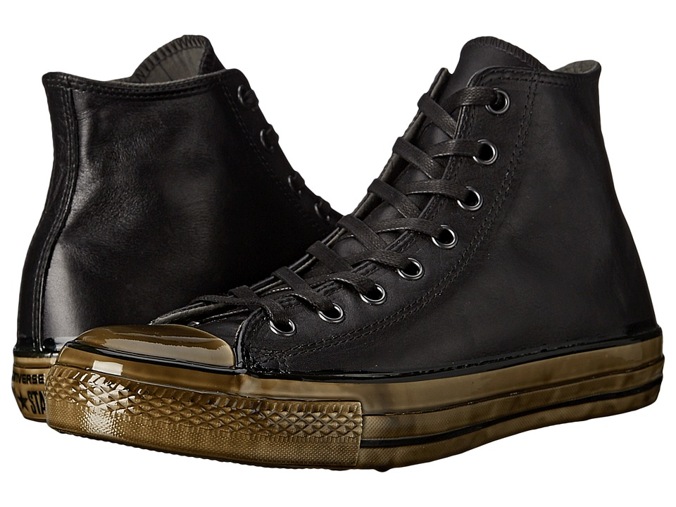 Converse by John Varvatos Chuck Taylor All Star Dipped Outsole Hi (Dipped Black/Black/Beluga) Shoes