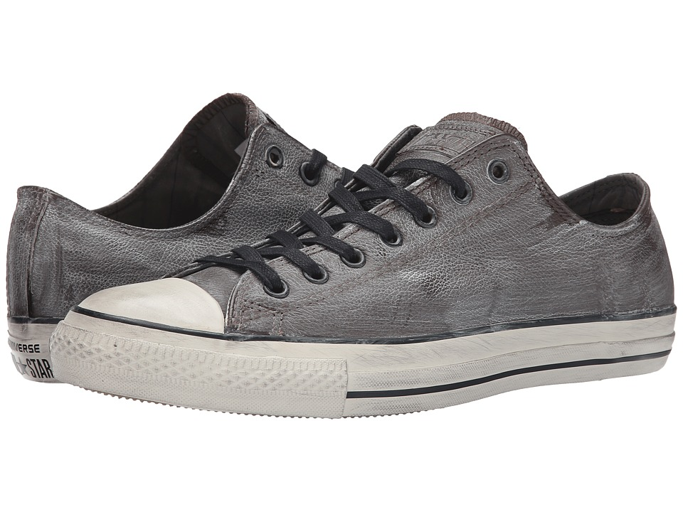 Converse by John Varvatos Chuck Taylor All Star Ox (Wrinkled Leather Turkish Coffee/Beluga/Turtledove) Shoes