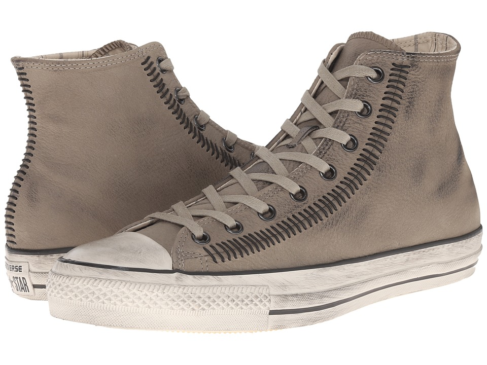 Converse by John Varvatos - Chuck Taylor All Star Artisan Stitch Hi (Artisan Stitch Dril/Black/Turtledove) Shoes