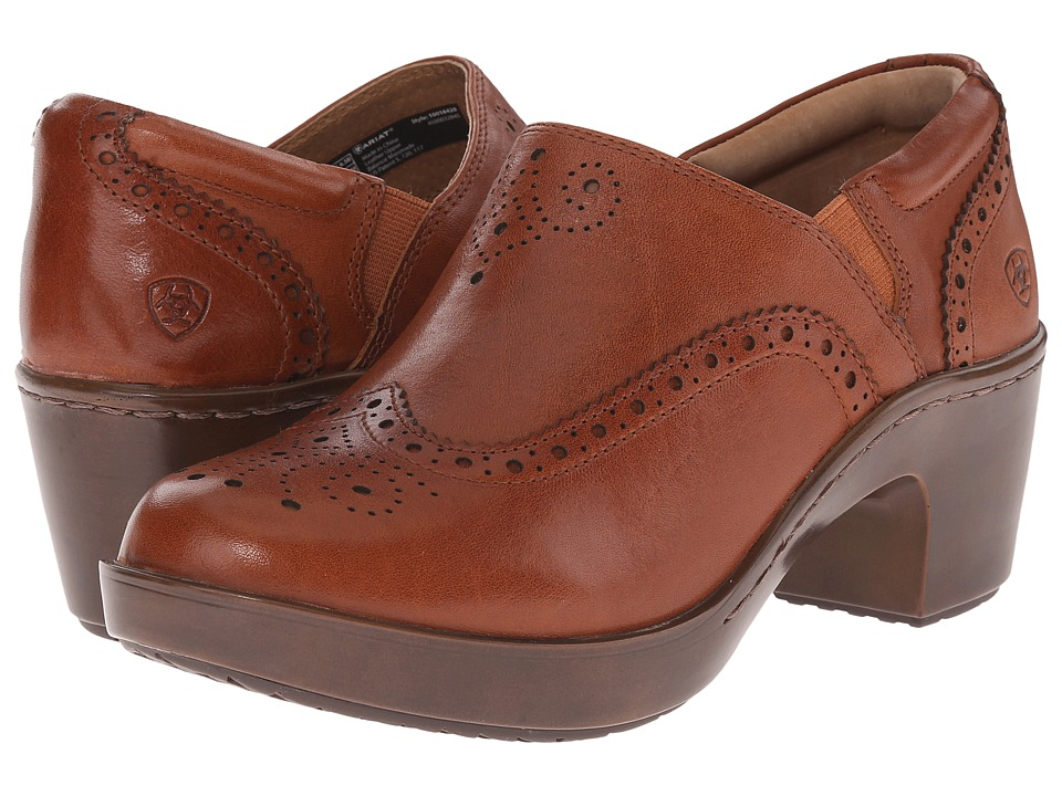 Ariat - Bradford (Cognac) Women's Clog Shoes