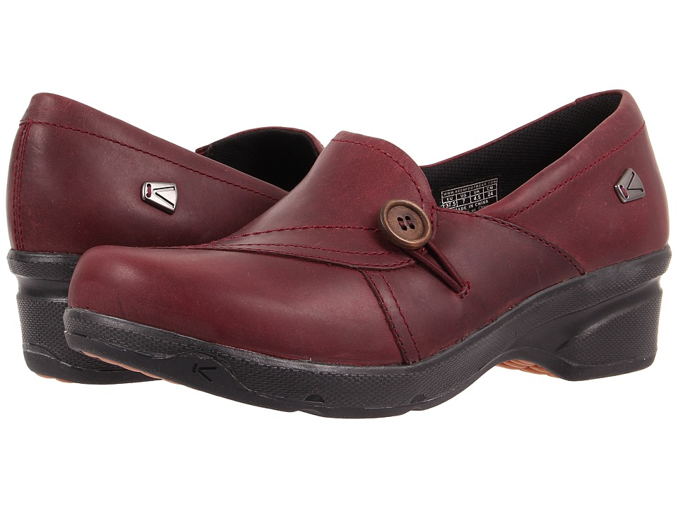 Keen Mora Button (Zinfandel) Women