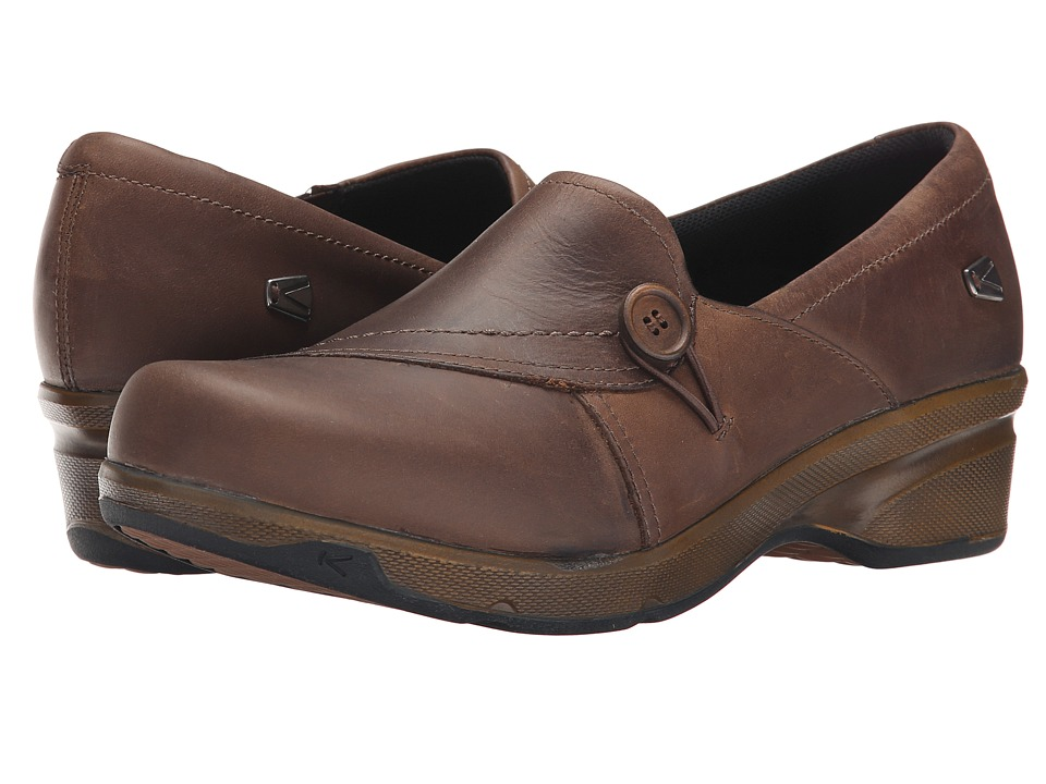 Keen - Mora Button (Cascade Brown) Women's Shoes