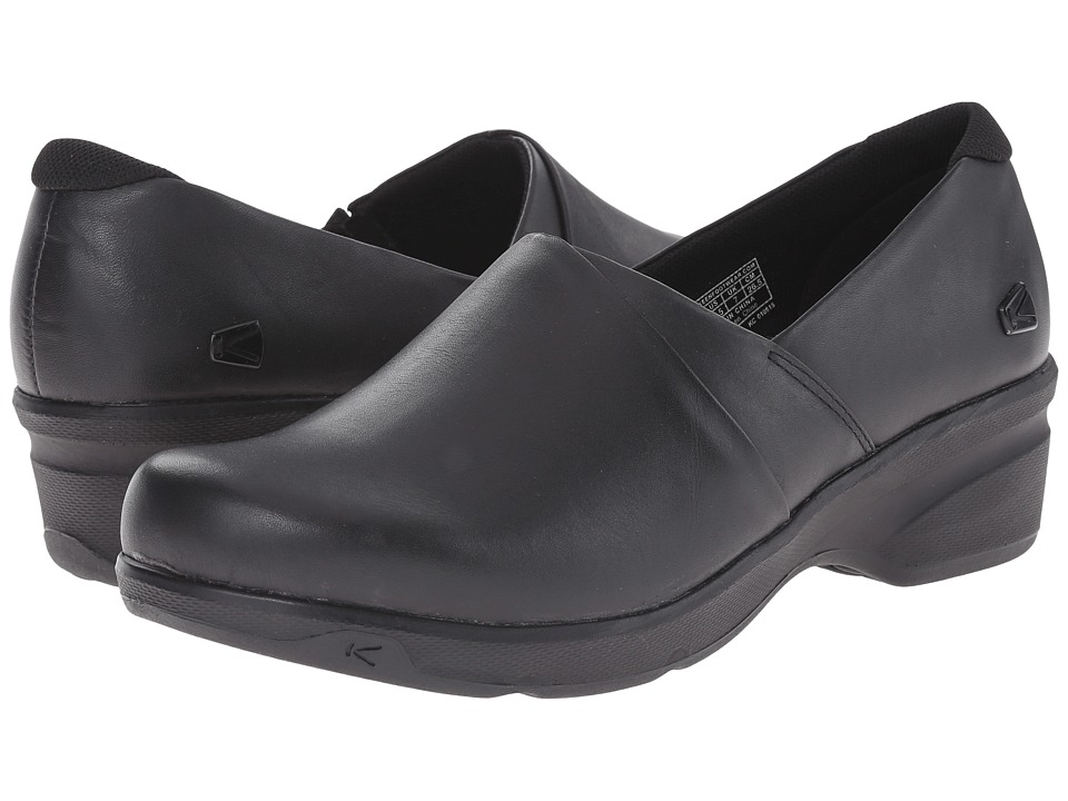 Keen - Mora Service Clog (Black) Women's Shoes
