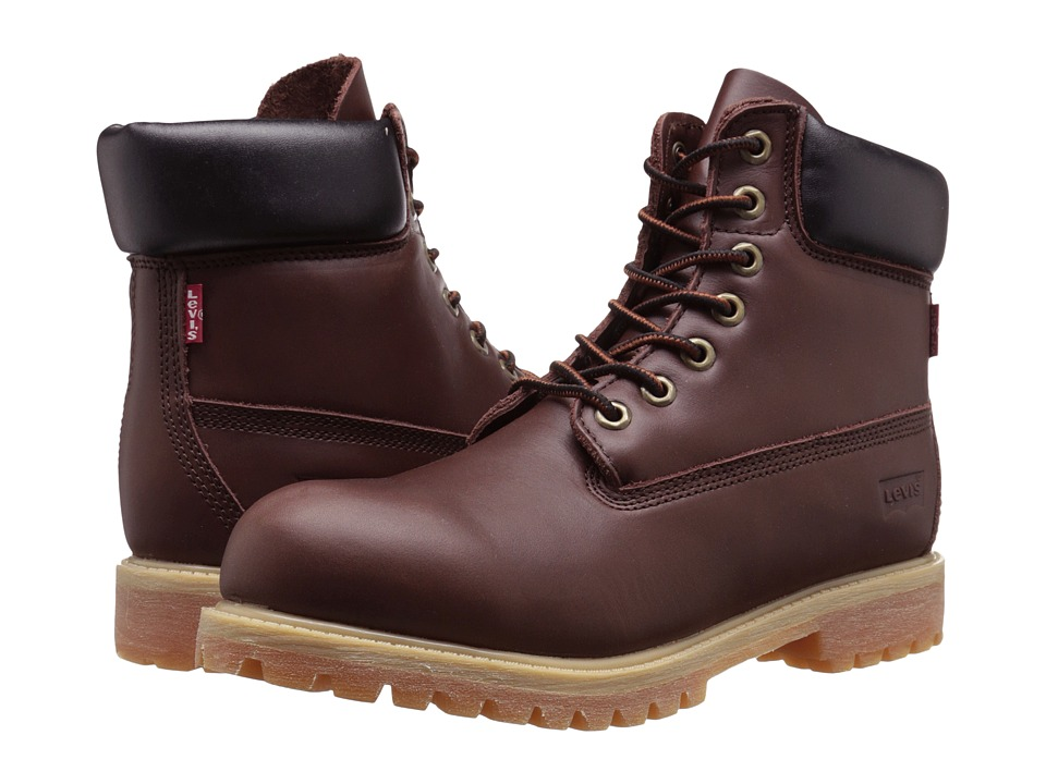 Levi's(r) Shoes - Harrison LE (Brown) Men's Lace-up Boots