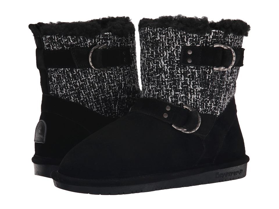 Bearpaw Nova (Black) Women