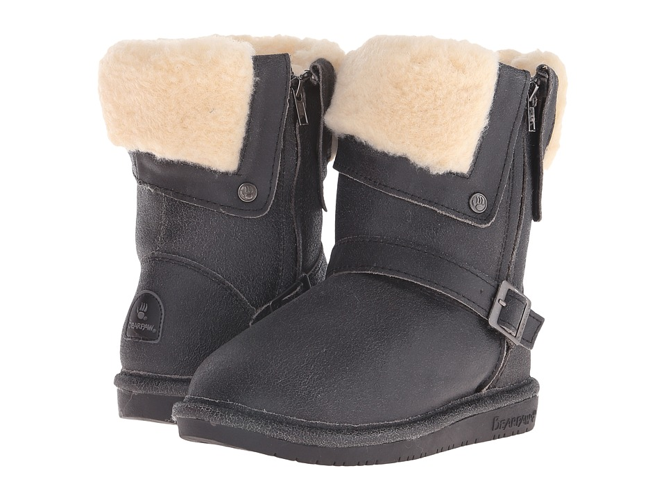 Bearpaw - Madison (Distressed Black) Women