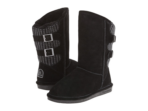 Bearpaw - Boshie (Black) Women's Shoes