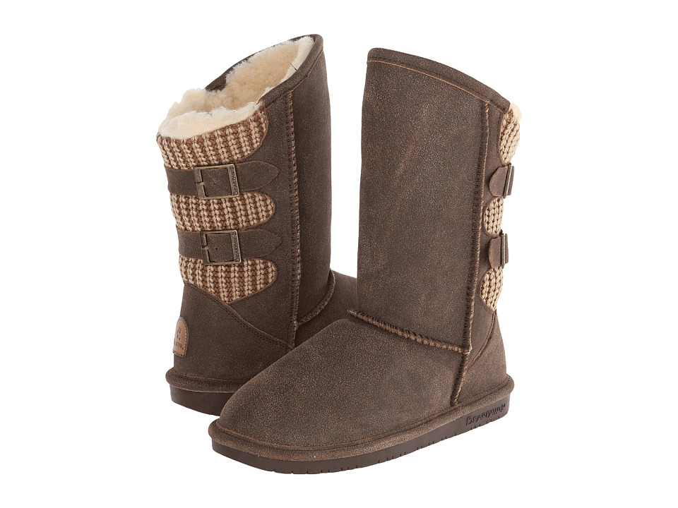Bearpaw - Boshie (Chestnut Distressed) Women's Shoes