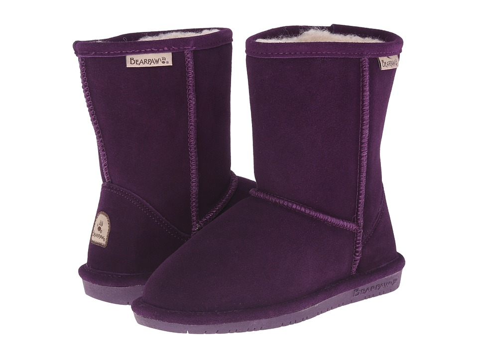 Bearpaw Kids - Emma (Little Kid/Big Kid) (Deep Purple) Girls Shoes