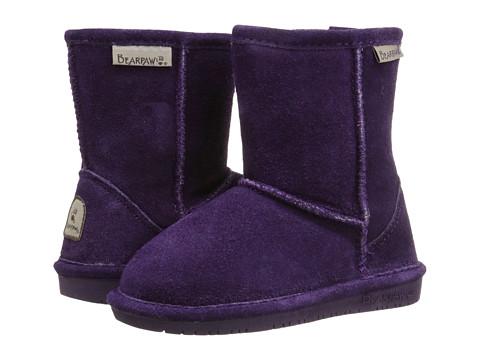 Bearpaw Kids - Emma (Toddler) (Deep Purple) Girls Shoes