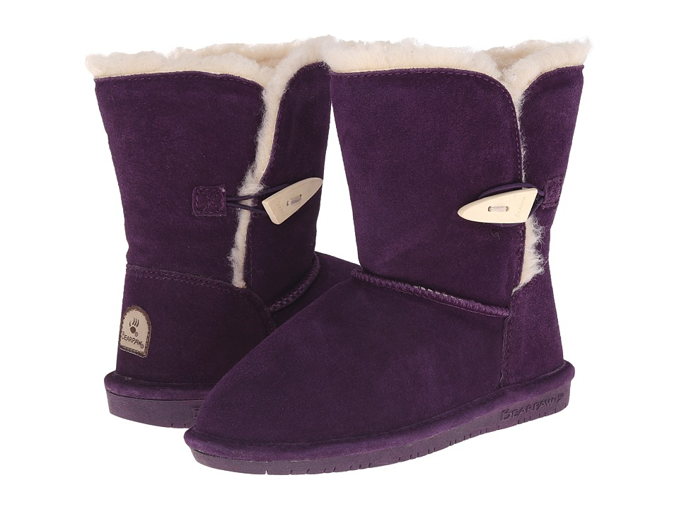 Bearpaw Kids - Abigail (Little Kid/Big Kid) (Deep Purple) Girls Shoes
