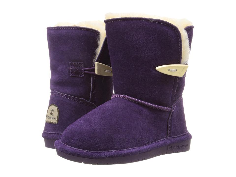 Image of Bearpaw Kids - Abigail (Toddler) (Deep Purple) Girls Shoes