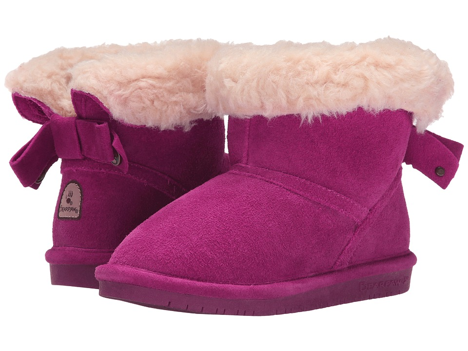 Bearpaw Kids - Harper (Little Kid/Big Kid) (Pomberry) Girl