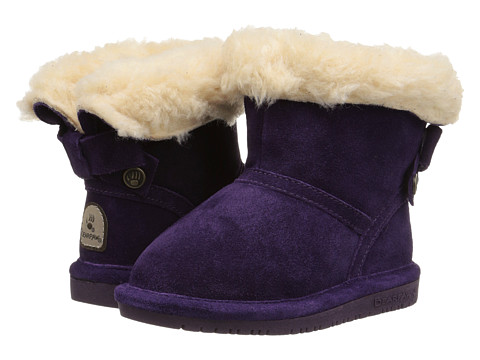 Bearpaw Kids - Harper (Toddler/Little Kid) (Deep Purple) Girl