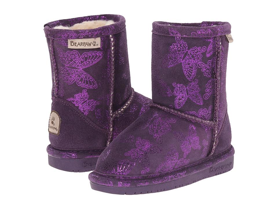 Bearpaw Kids - Belle (Toddler/Little Kid) (Deep Purple) Girls Shoes