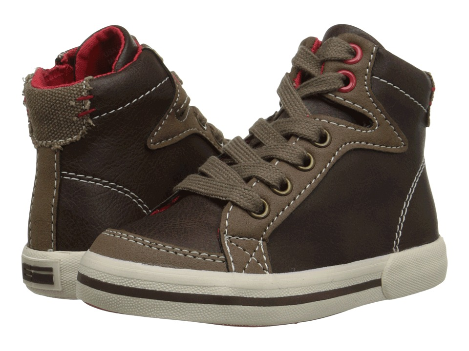 Elements by Nina Kids - David (Toddler/Little Kid/Big Kid) (Brown) Boys Shoes