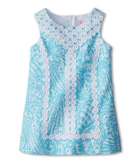 Lilly Pulitzer Kids - Mini MacFarlane (Toddler/Little Kids/Big Kids) (Shorely Blue Sea Cups) Girl's Dress
