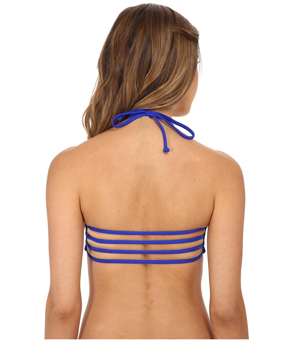 Body Glove - Smoothies Mika Halter Triangle Top (Abyss) Women's Swimwear