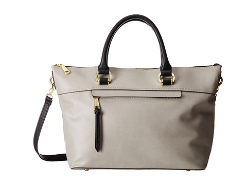 London Fog - Thompson Satchel (Dove) Satchel Handbags