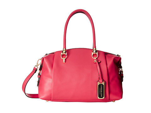 London Fog - Carson Satchel (Watermelon) Satchel Handbags