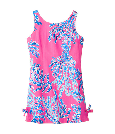 Lilly Pulitzer Kids - Little Delia Dress (Little Kids/Big Kids) (Capri Pink Samba) Girl's Dress