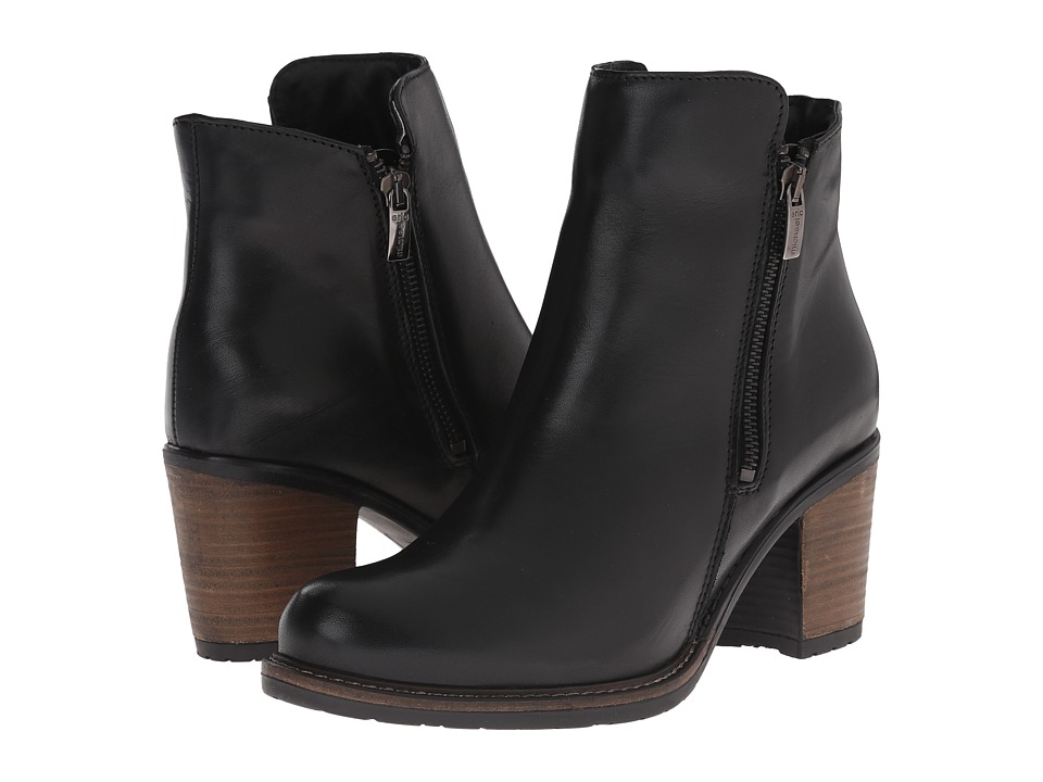 Eric Michael - Spokane (Black) Women's Zip Boots