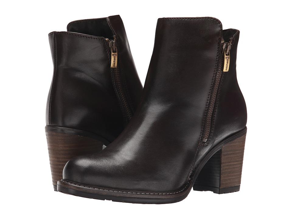 Eric Michael - Spokane (Brown) Women's Zip Boots