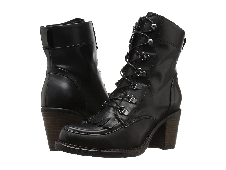 Eric Michael - Oregon (Black) Women's Lace-up Boots