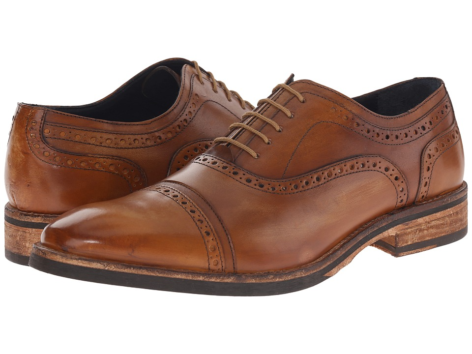 Messico - Elias (Honey Leather) Men's Flat Shoes