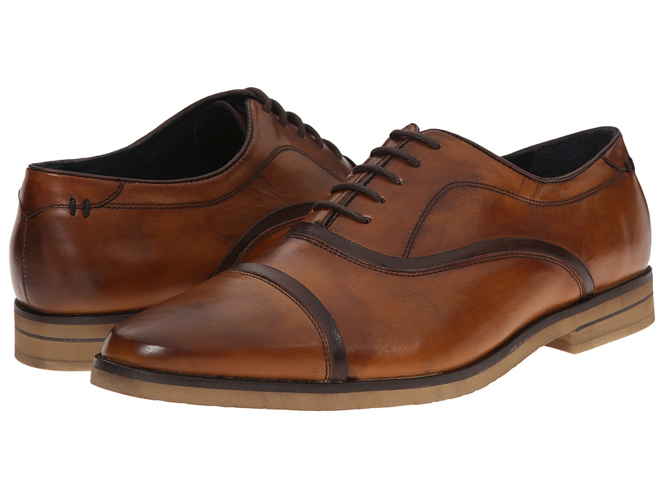 Messico - Ivan (Vintage Honey Leather) Men's Flat Shoes