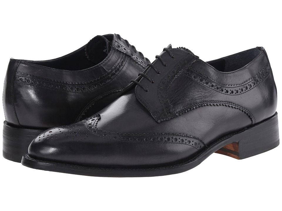 Messico - Jorge Welt (Black Leather) Men's Flat Shoes