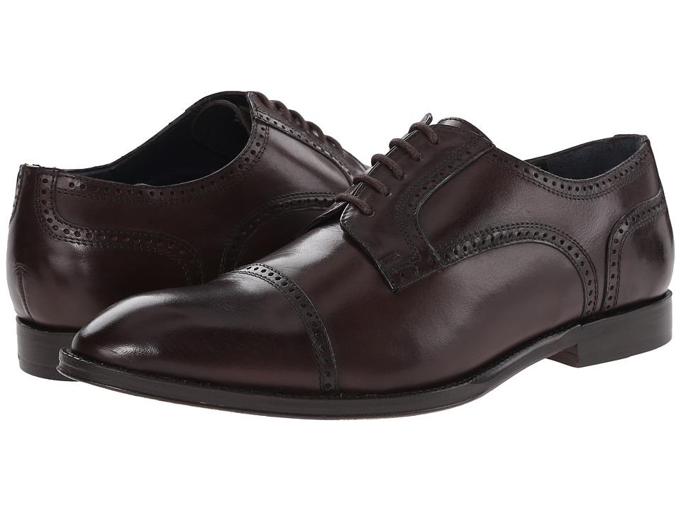 Messico - Rafael (Brown Leather) Men's Flat Shoes